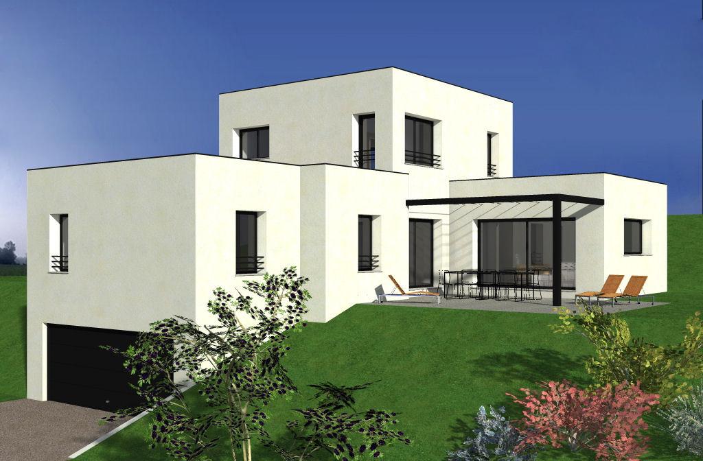 Hauteur maison plain pied toit plat ventana blog - Constructeur maison moderne toit plat ...